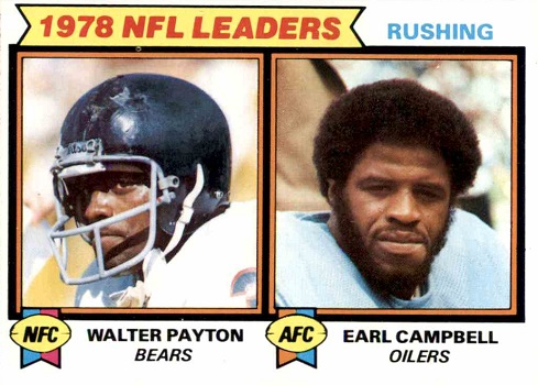 1979 Topps Payton _ Campbell