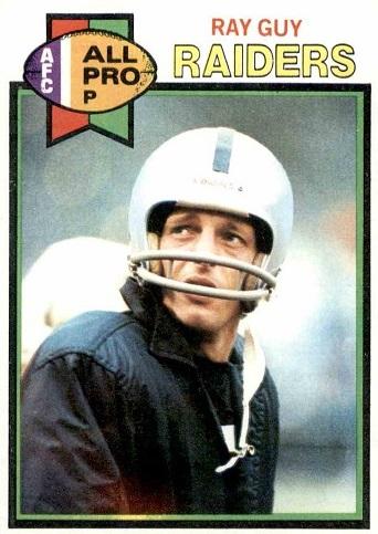 1979 Topps Ray Guy