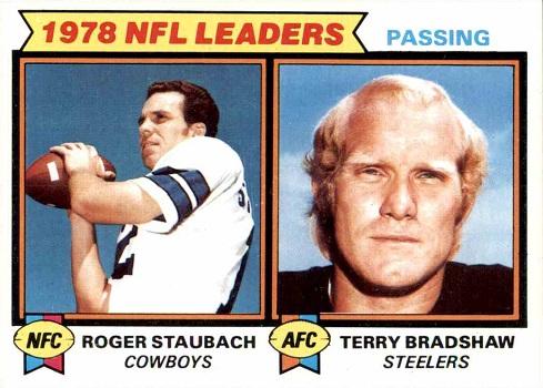 1979 Topps Staubach _ Bradshaw