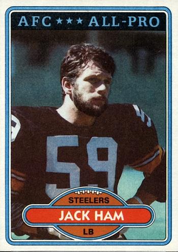 1980 Topps Jack Ham