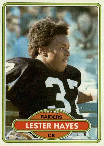 1980 Topps Lester Hayes