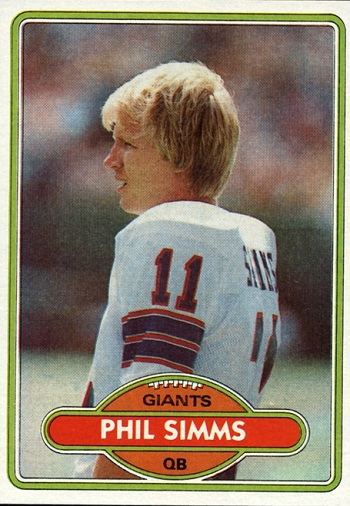 1980 Topps Phil Simms