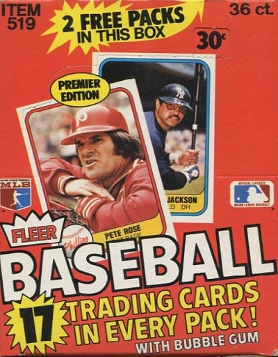 1981 Fleer Baseball Cards 12 Most Valuable Wax Pack Gods