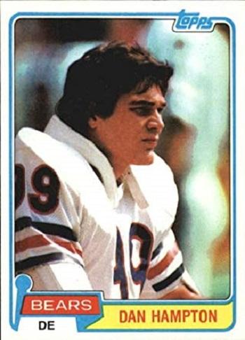 1981 Topps Dan Hampton