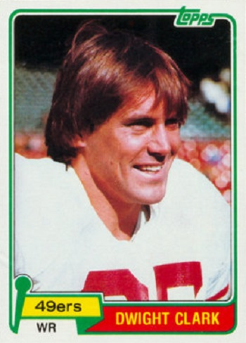1981 Topps Dwight Clark