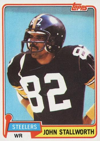 1981 Topps John Stallworth