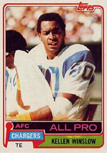 1981 Topps Kellen Winslow