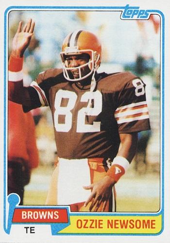 1981 Topps Ozzie Newsome