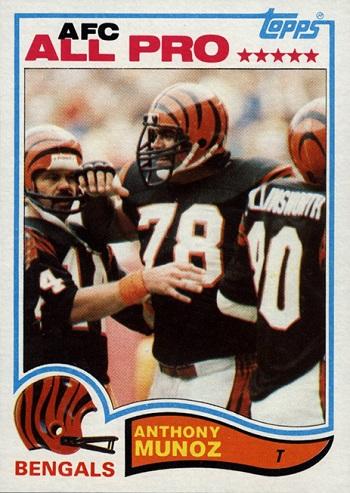 1982 Topps Anthony  Munoz