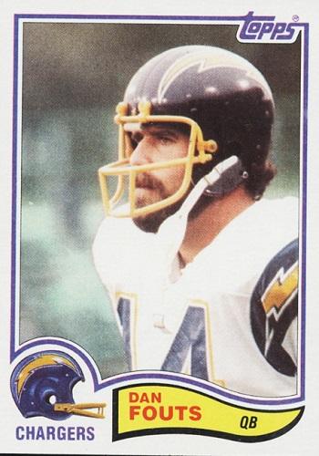 1982 Topps Dan  Fouts
