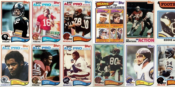 1982 Topps Football Cards 12 Most Valuable Wax Pack Gods