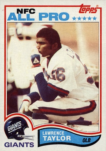 1982 Topps Lawrence  Taylor