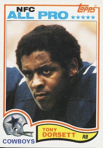 1982 Topps Tony  Dorsett