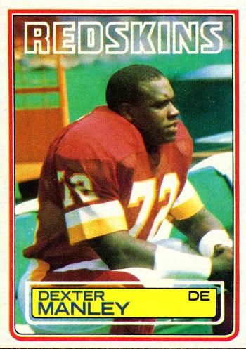 1983 Topps Dexter Manley