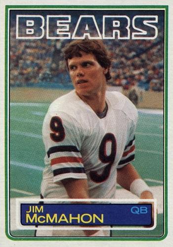 1983 Topps Jim McMahon