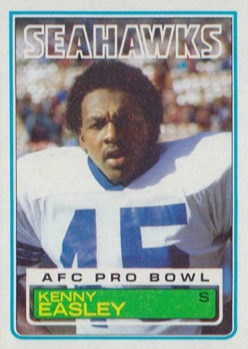 1983 Topps Kenny Easley