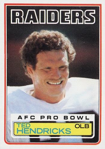 1983 Topps Ted Hendricks