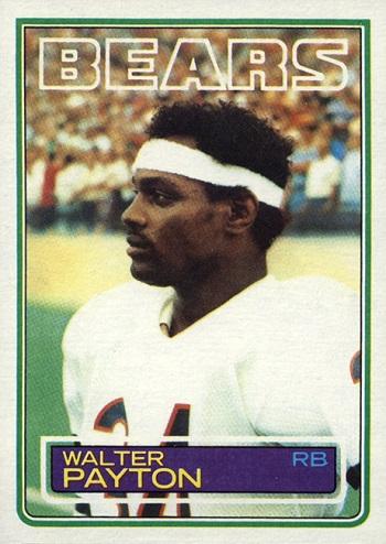 1983 Topps Walter Payton