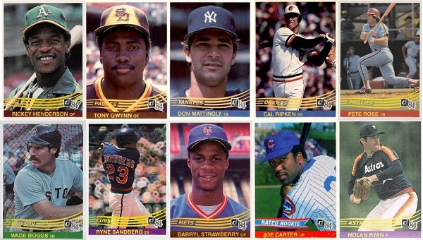 1984 Donruss Baseball Cards 10 Most Valuable Wax Pack Gods