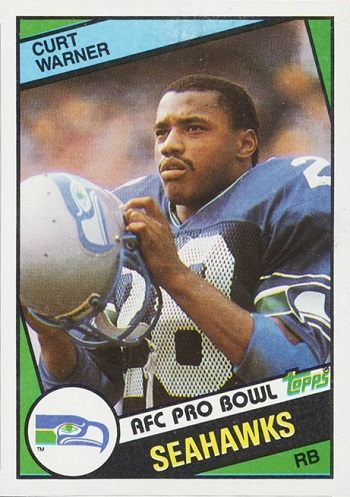 1984 Topps Curt Warner