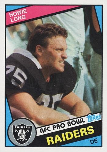 1984 Topps Howie Long