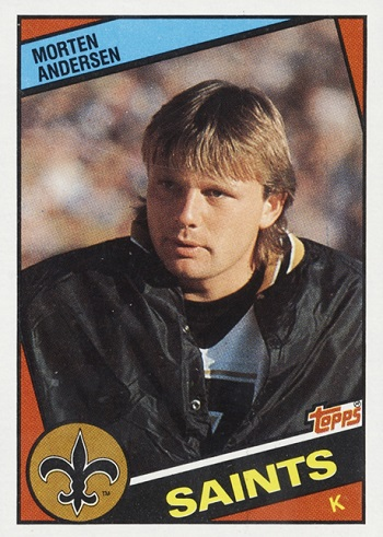 1984 Topps Morten Anderson