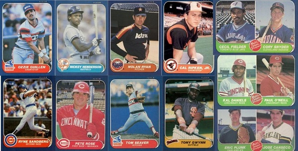 1986 Fleer Baseball Cards 11 Most Valuable Wax Pack Gods