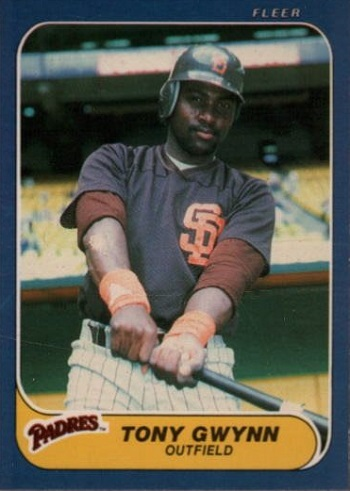 1986 Fleer Tony  Gwynn