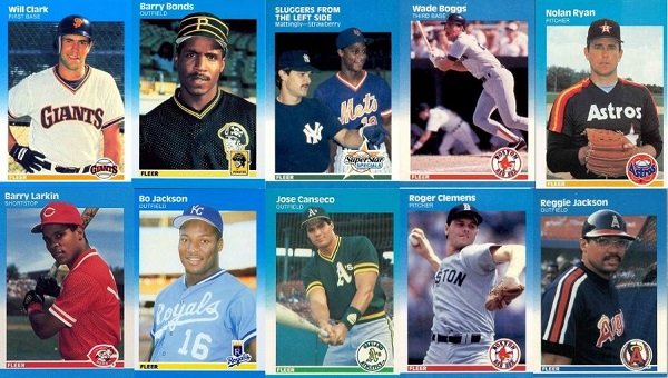 1987 Fleer Baseball Cards 10 Most Valuable Wax Pack Gods