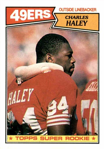 1987 Topps Charles Haley