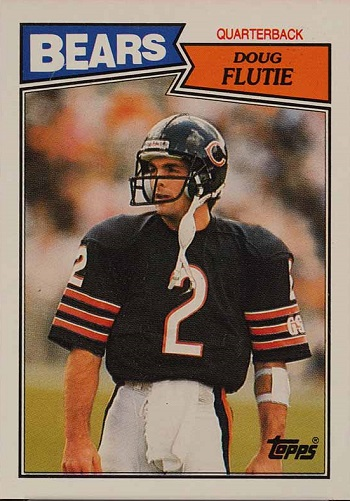 1987 Topps Doug Flutie