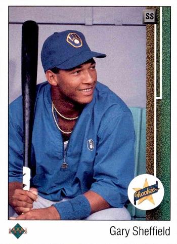 1989 Upper Deck Gary Sheffield Rookie Card