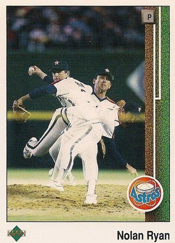 1989 Upper Deck Nolan Ryan (Astros)