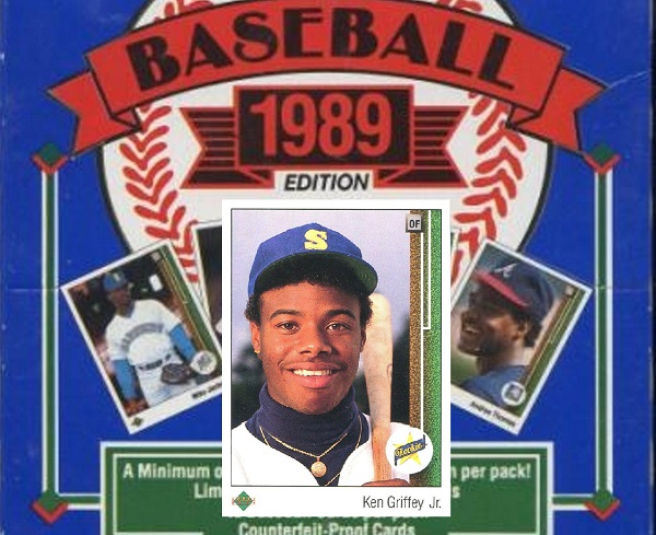 1989 Upper Deck Baseball Cards 10 Most Valuable Wax Pack