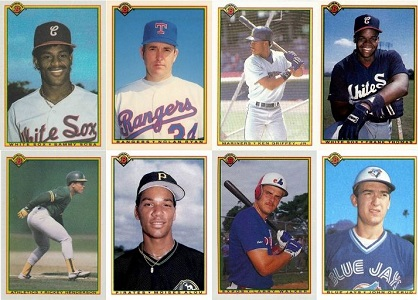 1990 Bowman Baseball Cards — 9 Most Valuable