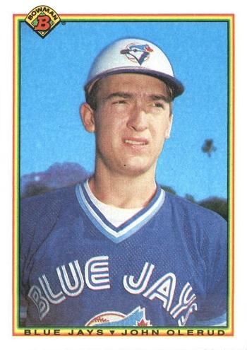 1990 Bowman John Olerud Rookie Card