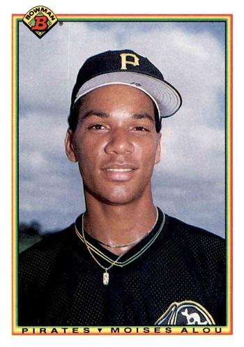 1990 Bowman Moises Alou Rookie Card