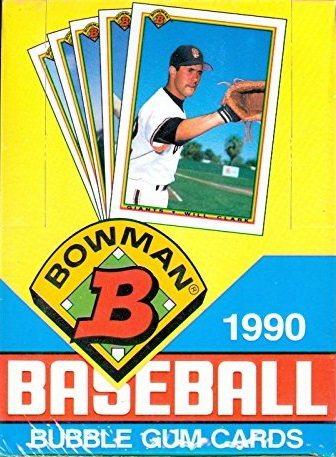1990 Bowman Baseball Cards 9 Most Valuable Wax Pack Gods