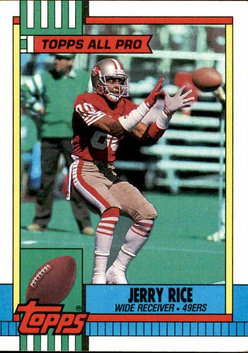 1990 Topps Jerry Rice