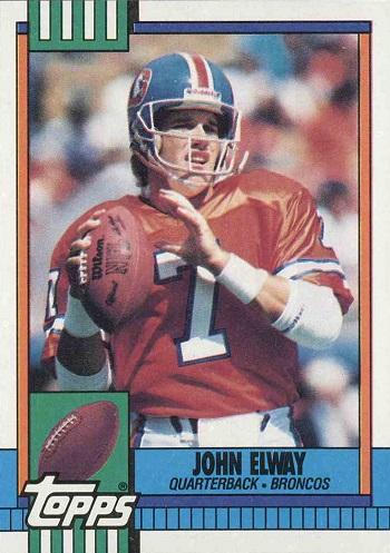 1990 Topps John Elway