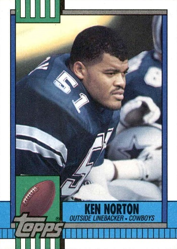 1990 Topps Ken Norton Rookie Card
