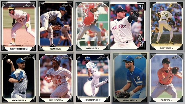 1991 Leaf Baseball Cards 10 Most Valuable Wax Pack Gods