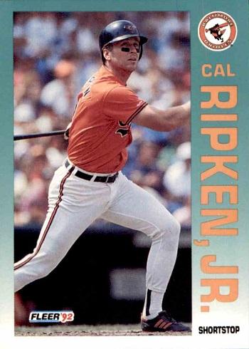 1992 Fleer Cal Ripken Jr