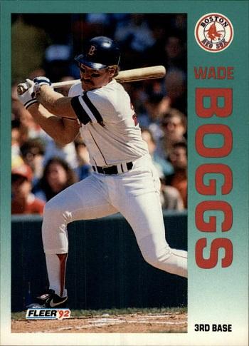 1992 Fleer Wade Boggs