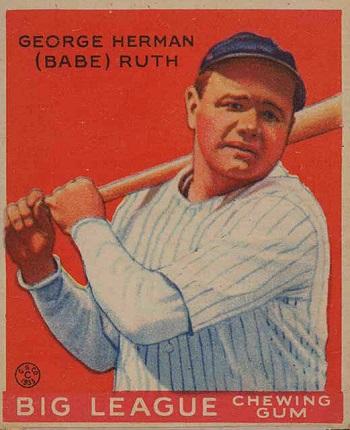 1933 Goudey Babe Ruth #149