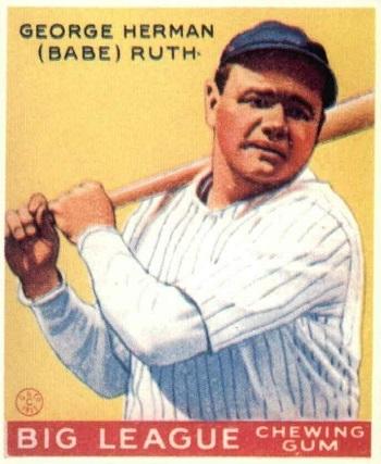 1933 Goudey Babe Ruth (#53)