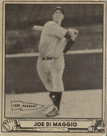 1940 Play Ball Joe DiMaggio