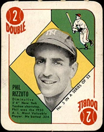 1951 Topps Red Back Phil Rizzuto