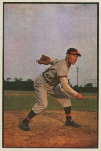 1953 Bowman Bob Feller