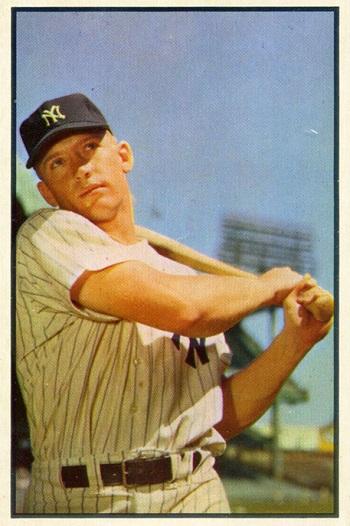1953 Bowman Mickey Mantle